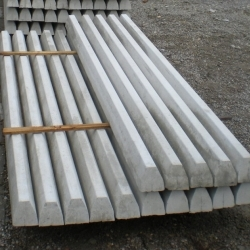 Vasbeton kerítésoszlop