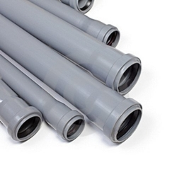 PVC lefolyó- és csatornacsövek